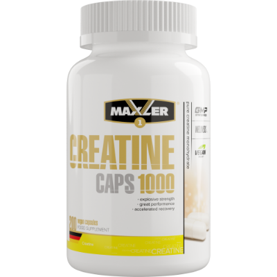 Maxler Creatine Caps 1000 200 капсул