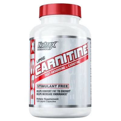 Nutrex LIPO-6 Carnitine 120 капсул