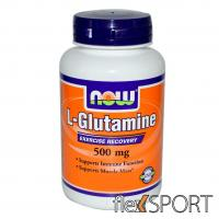 NOW L-Glutamine 500 мг 60 капсул