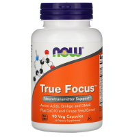 NOW True Focus 90 вегетарианских капсул