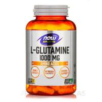 NOW L-Glutamine 1000 мг 240 капсул