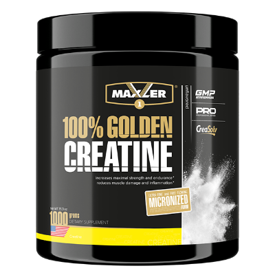 Maxler Creatine 100% Golden Micronized 1000 г